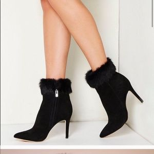 Antonio Melani Rabbit Fur Boots